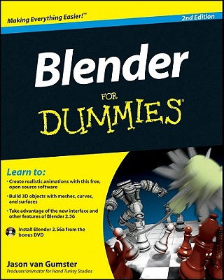 Blender for Dummies [With DVD ROM]